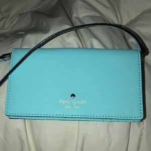 Blue Kate spade purse/wallet